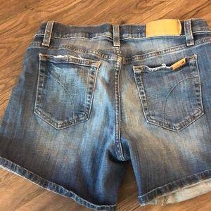 Joes Jean shorts size 25,
